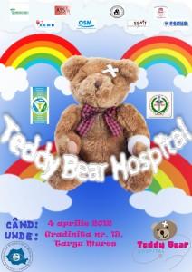 """Afis national """"Teddy Bear Hospital"""""""